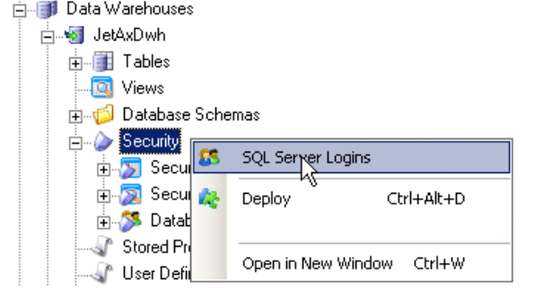 How to create secured views and securable columns – TimeXtender