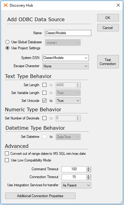 Connect to MySQL using ODBC – TimeXtender