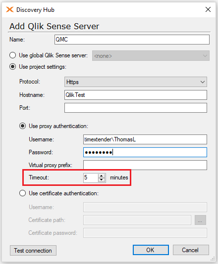 Timeouts on databases – TimeXtender