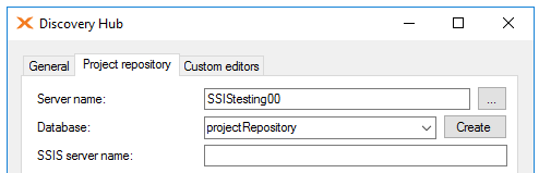 Using Discovery Hub with SQL Server Integration Services